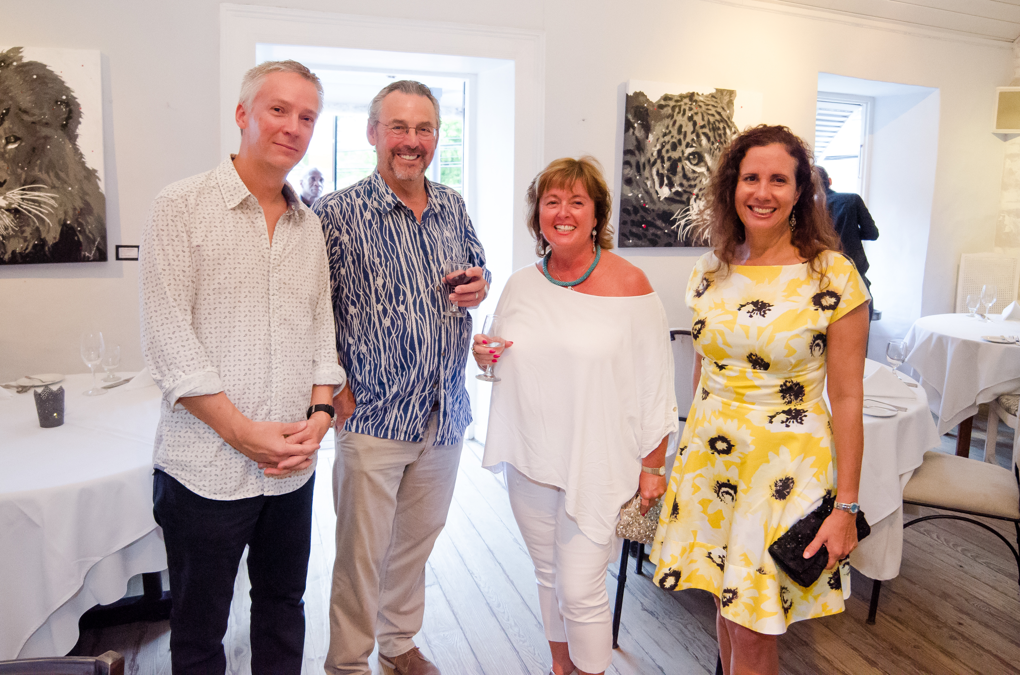 Jeena Chatrani Exhibition at The Mews Barbados